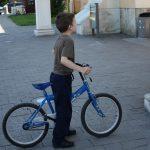 Primul concurs de biciclete
