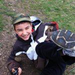 Geocaching la Colțești