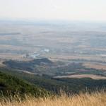 releul de pe Dealul Stânii cu bicla